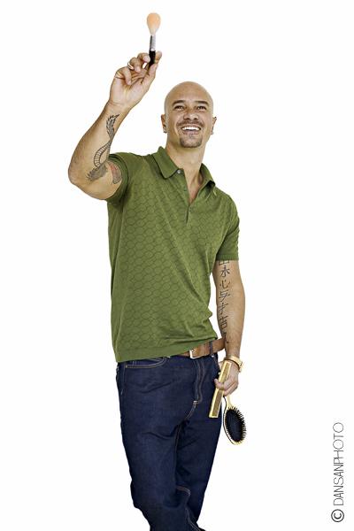 Pablo Iglesias maquillador make up dansanphoto