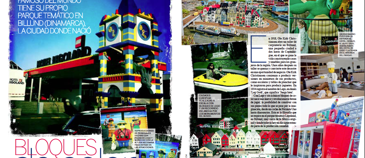 Legoland > Play with LEGO at Billund, Denmark