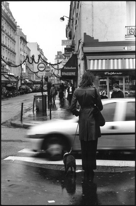 Parisienne, c1999. Film street photography series by dansanphoto