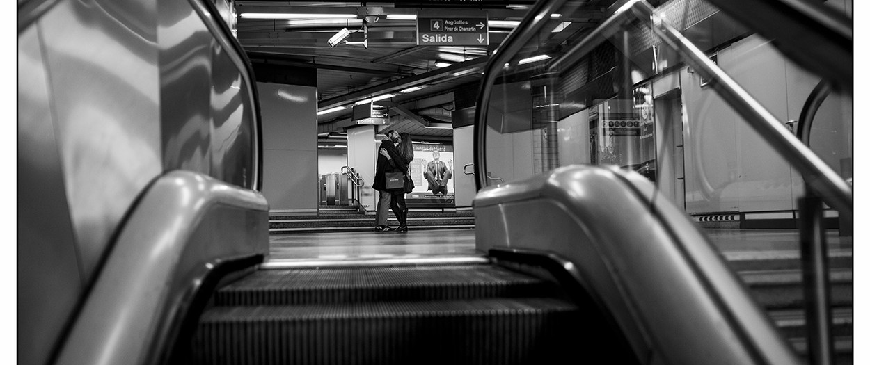 Love is... in the metro