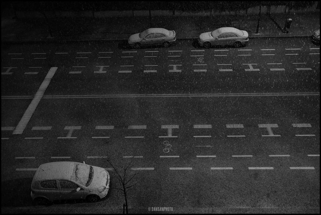 dansanphoto snow nieve Madrid Leica