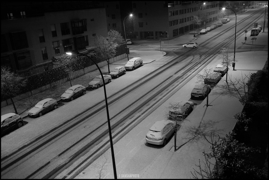 dansanphoto nieve snow Madrid Leica