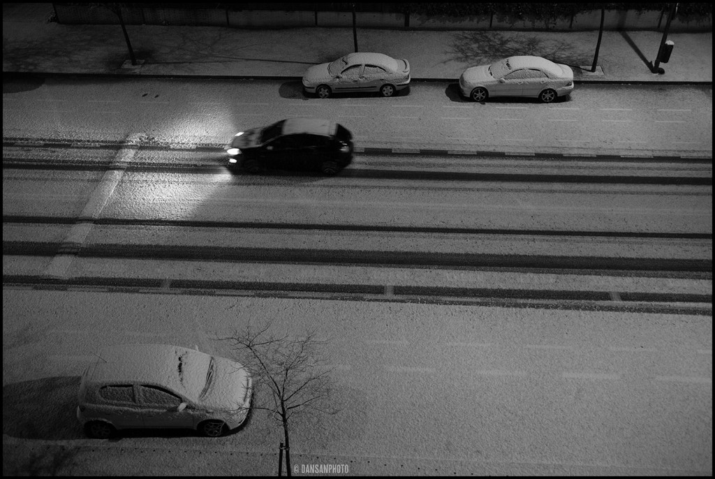 dansanphoto snow nieve Madrid