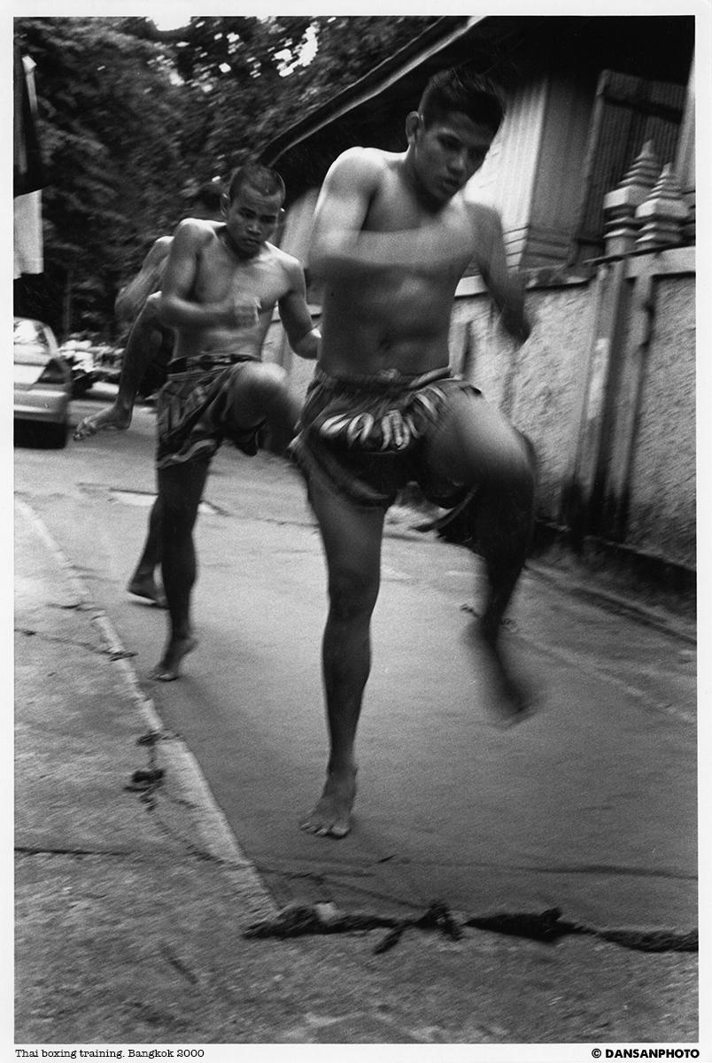Thai Boxing Bangkok dansanphoto