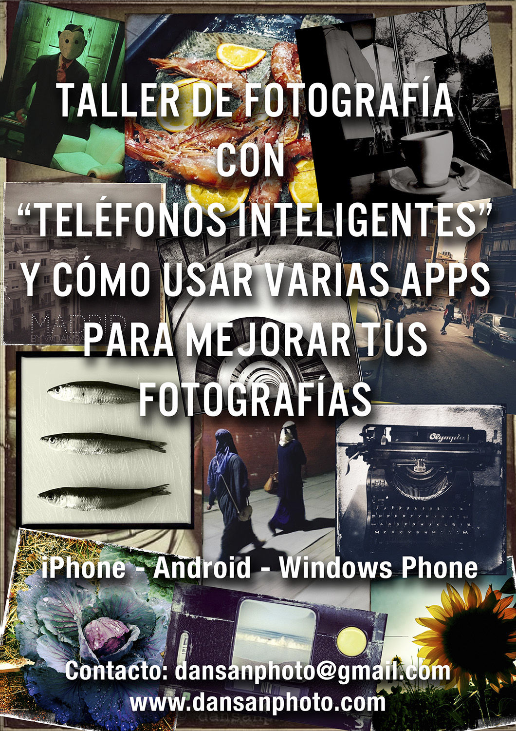 Taller iPhone dansanphoto Android App WindowsPhone